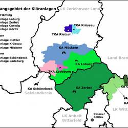 Regionale Zuständigkeiten